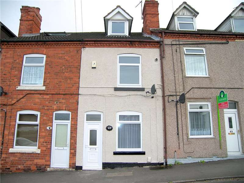 3 Bedrooms Terraced House for sale in Park Lane, Pinxton, Nottingham, Nottinghamshire, NG16