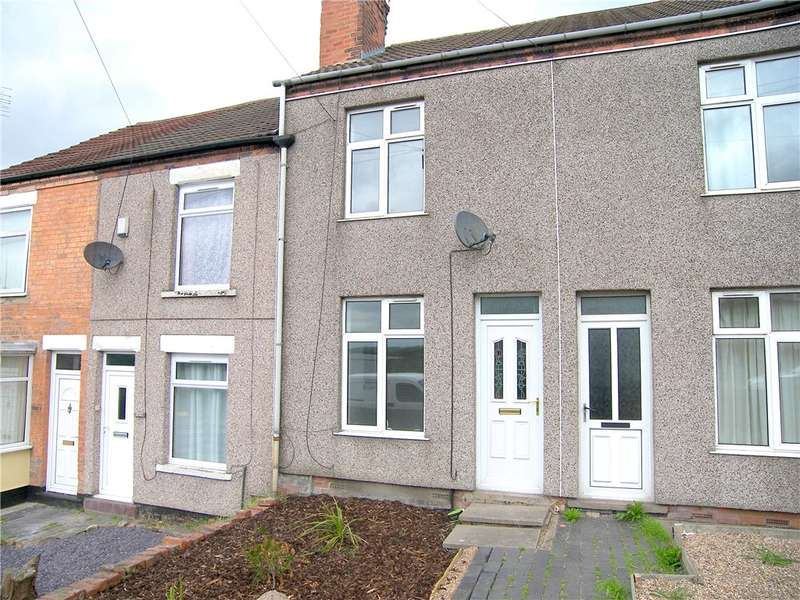 2 Bedrooms Terraced House for sale in Alfreton Road, Jubilee, Alfreton, Derbyshire, DE55
