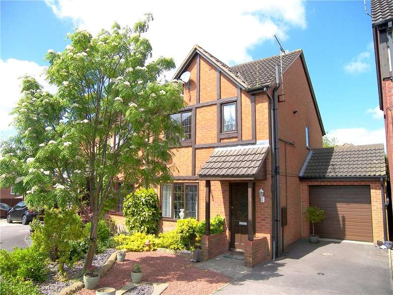 3 Bedrooms Semi Detached House for sale in Finley Way, South Normanton, Alfreton, Derbyshire, DE55