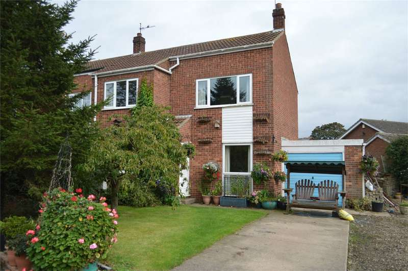3 Bedrooms Semi Detached House for sale in 5 Barley Garth, Brandesburton, East Riding of Yorkshire