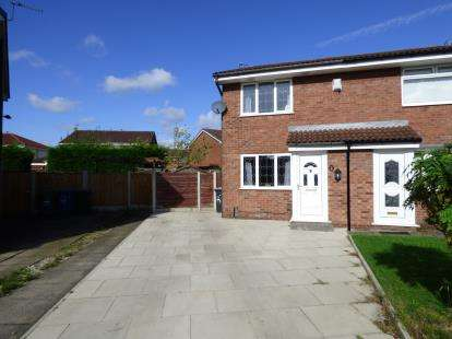 2 Bedrooms Semi Detached House for sale in Coldstream Close, Warrington, Cheshire, WA2