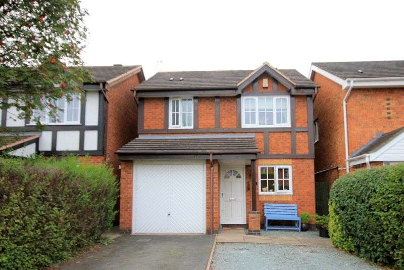3 Bedrooms Detached House for sale in Taverners Drive, Stone