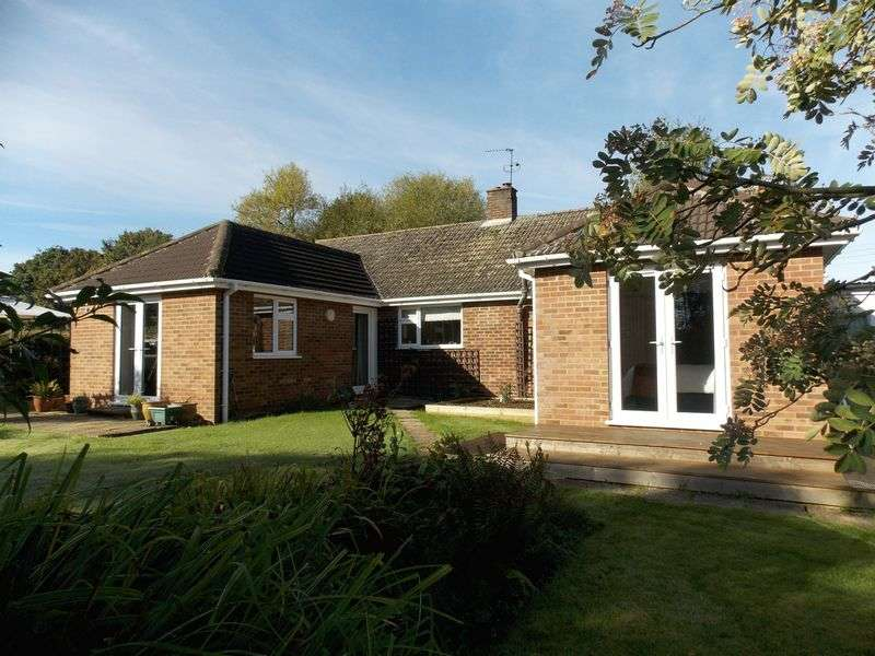 3 Bedrooms Detached Bungalow for sale in Heath Road, Hessett