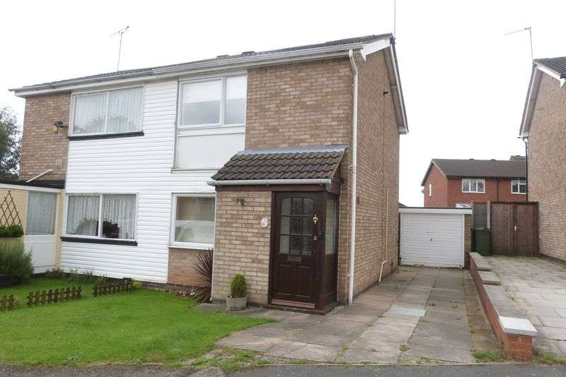 2 Bedrooms Semi Detached House for sale in Clayton Drive, Thurmaston