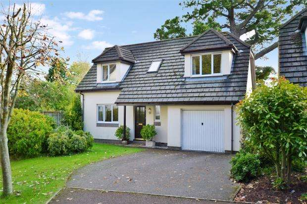 4 Bedrooms Detached House for sale in Wolborough Gardens, Newton Abbot, Devon