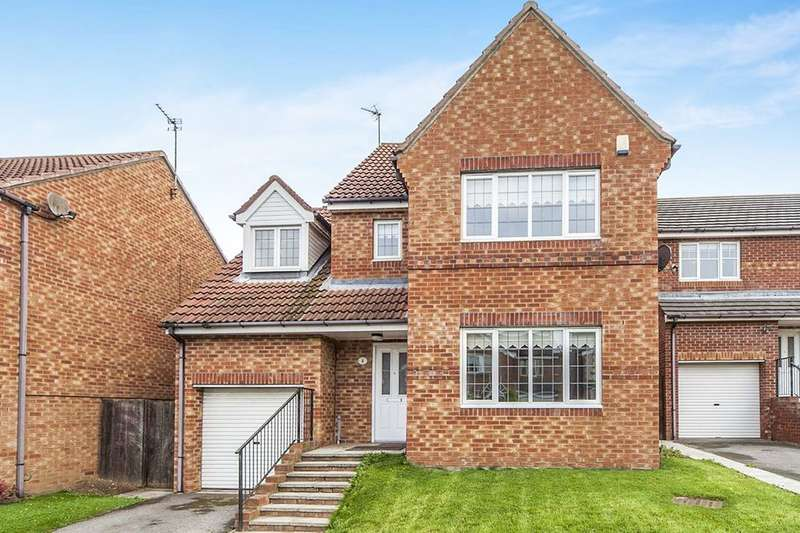 4 Bedrooms Detached House for sale in Mandleston Close, Tunstall Grange, Sunderland, SR2