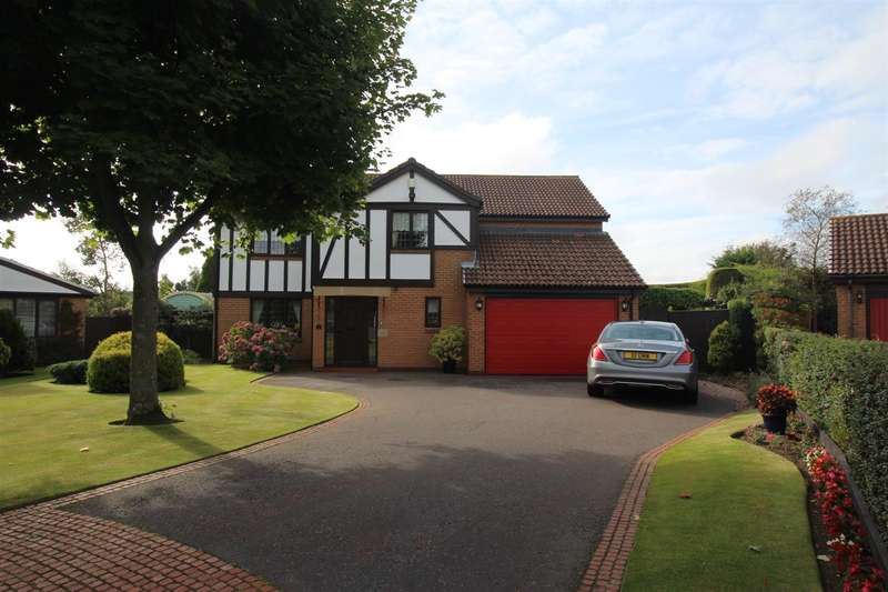 4 Bedrooms Detached House for sale in Ripon Close, Barns Park, Cramlington