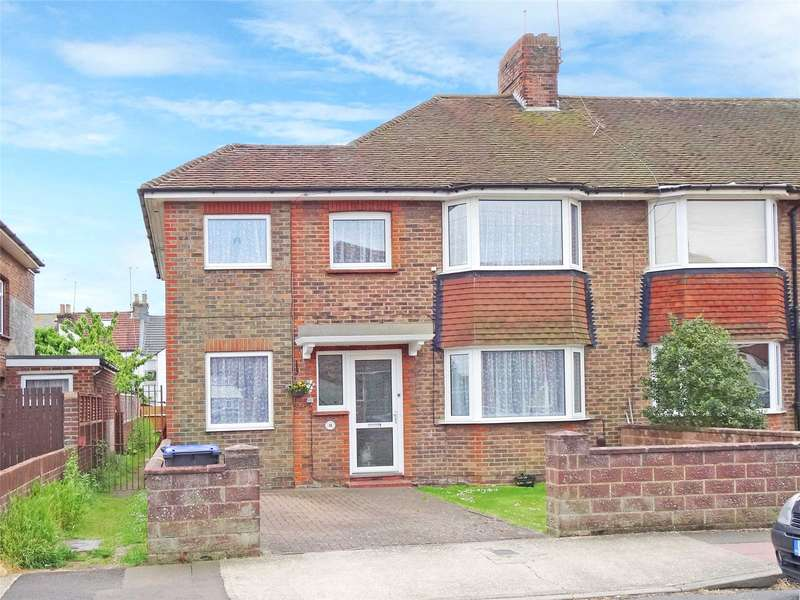 4 Bedrooms End Of Terrace House for sale in Guildford Road, Tarring, Worthing, BN14