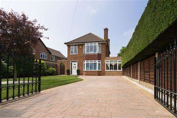 4 Bedrooms Detached House for sale in Crabbe Street, Ipswich
