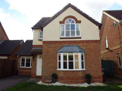 3 Bedrooms Detached House for sale in Parrish Close, Marston Moretaine, Bedford, Bedfordshire