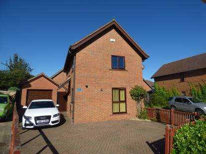 3 Bedrooms Detached House for sale in Khasiaberry, Walnut Tree, Milton Keynes, Buckinghamshire