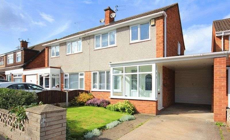 3 Bedrooms Semi Detached House for sale in Helston Avenue, Halewood, Liverpool, L26