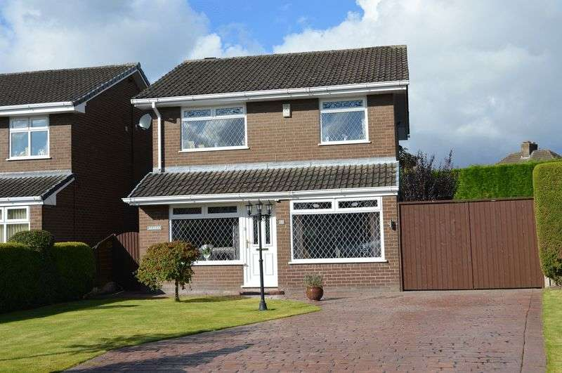 Detached House for sale in Holly Bush Square, Lowton, WA3 2JX