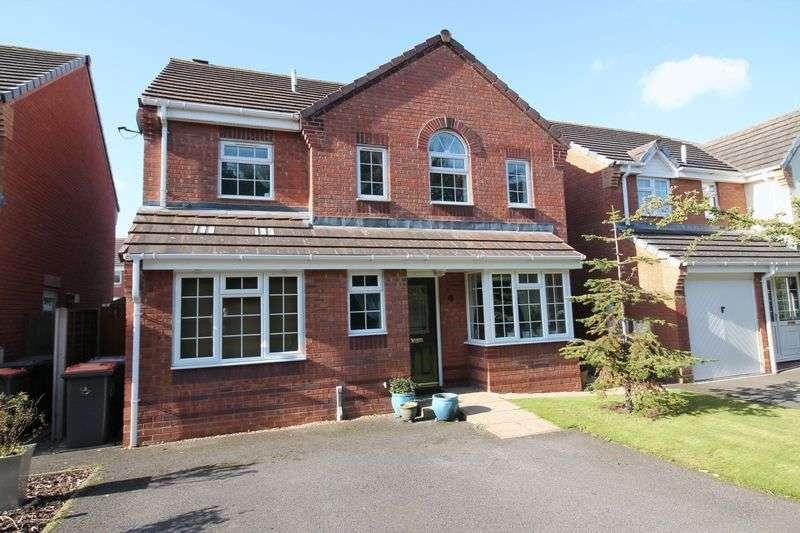 4 Bedrooms Detached House for sale in Warwick Way, Leegomery, Telford