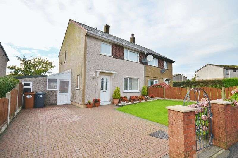 3 Bedrooms Semi Detached House for sale in Homewood Road, Whitehaven