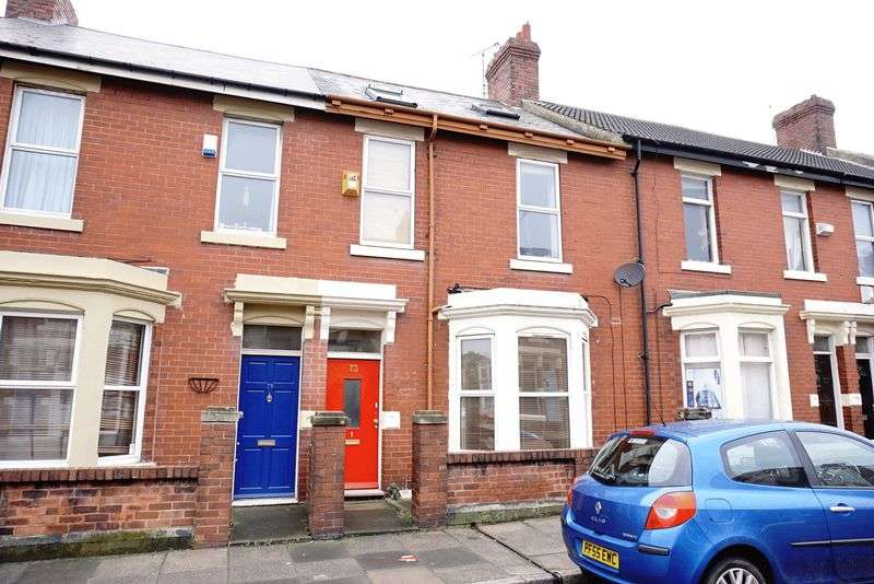 5 Bedrooms Terraced House for sale in WHITEFIELD TERRACE Heaton