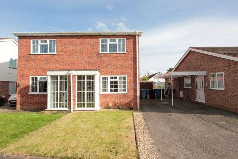 2 Bedrooms Semi Detached House for sale in Crud Y Castell, Denbigh