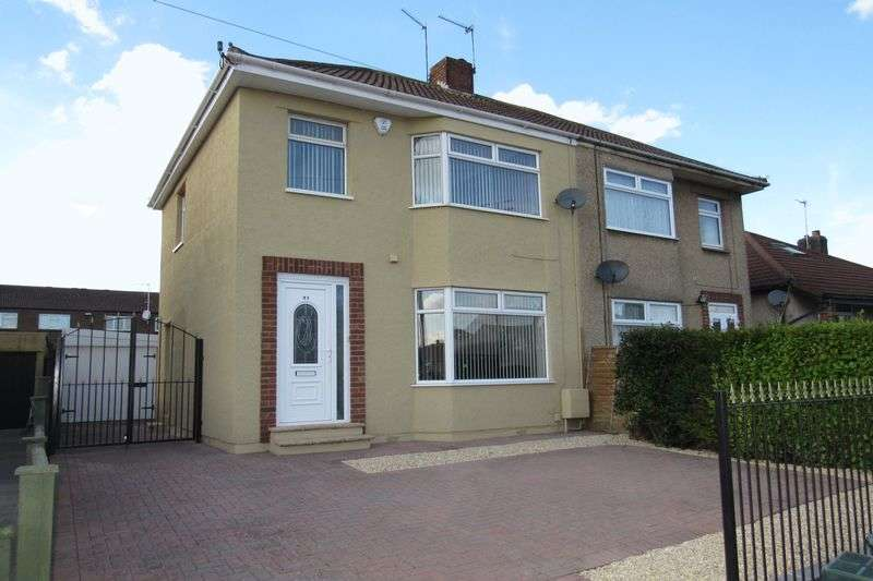 3 Bedrooms Semi Detached House for sale in Gloucester Road,Patchway, Bristol