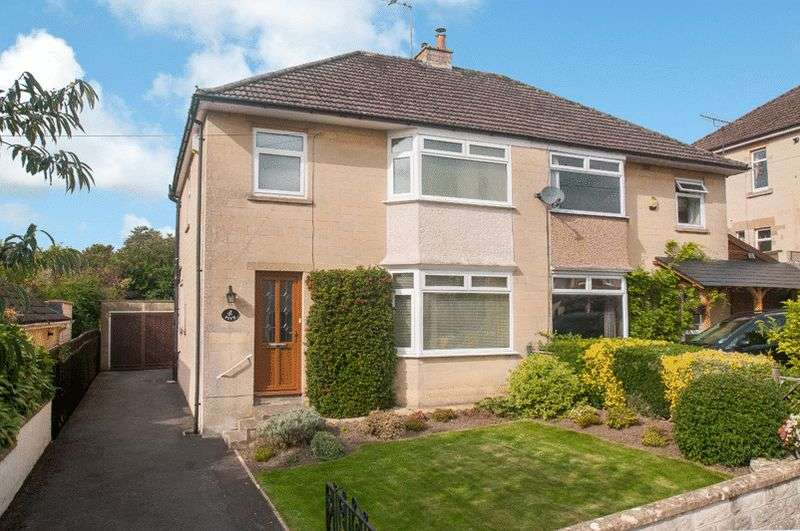 3 Bedrooms Semi Detached House for sale in Broadmoor Vale, Bath
