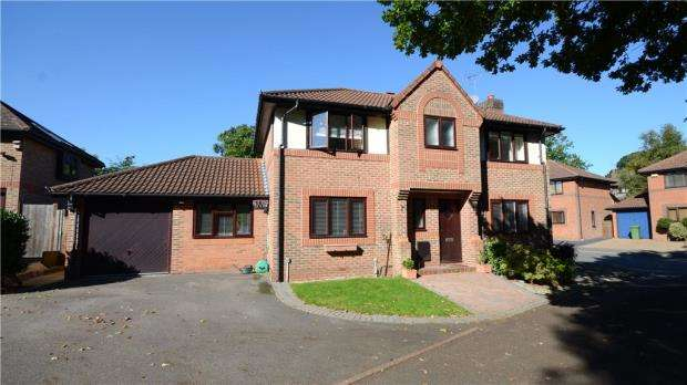 4 Bedrooms Detached House for sale in Field Park, Bracknell, Berkshire