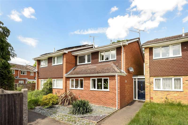 3 Bedrooms Semi Detached House for sale in Jerrymoor Hill, Finchampstead, Wokingham, Berkshire, RG40