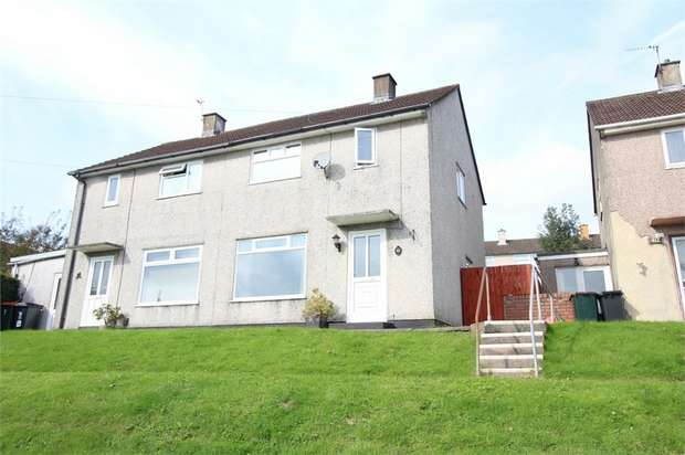 2 Bedrooms Semi Detached House for sale in Brynglas Drive, NEWPORT