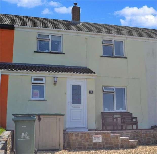 3 Bedrooms Terraced House for sale in Eastdown Park, Hartland, Bideford, Devon