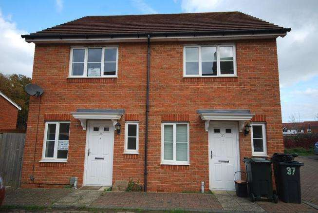 2 Bedrooms Semi Detached House for sale in Poppy Mead, Kingsnorth, Ashford, Kent, TN23 3GL