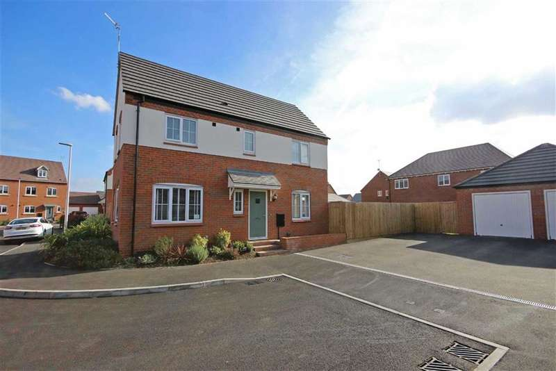 3 Bedrooms Property for sale in Alcott Close, Chase Meadow, Warwick, CV34