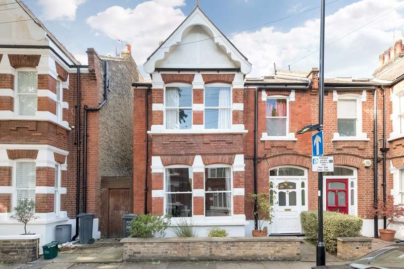 4 Bedrooms Semi Detached House for sale in Cleveland Avenue, London, W4
