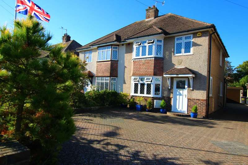 3 Bedrooms Semi Detached House for sale in Coppice Avenue, Eastbourne, BN20 9PP