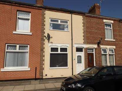 3 Bedrooms Terraced House for sale in Brougham Street, Darlington, Durham