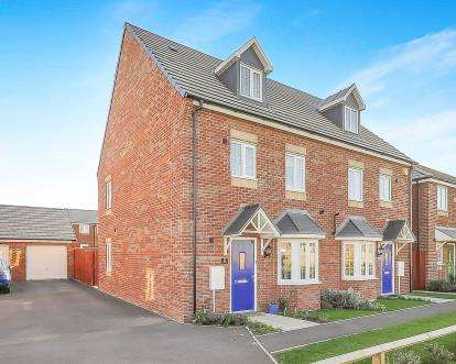 4 Bedrooms Semi Detached House for sale in Daphne Grove, Cardea, Peterborough, Cambridgeshire
