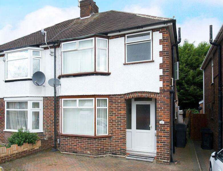 3 Bedrooms Semi Detached House for sale in Filmer Road, Luton, Beds, LU4 9BZ
