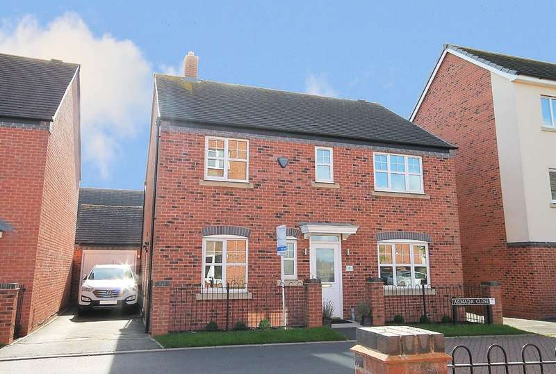4 Bedrooms Detached House for sale in Armada Close, Lichfield, WS14 0GJ