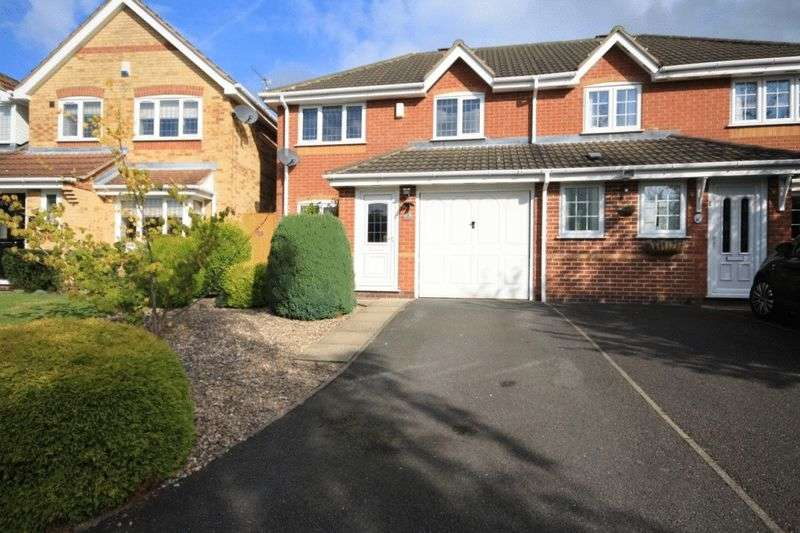 3 Bedrooms Semi Detached House for sale in TISSINGTON DRIVE, OAKWOOD