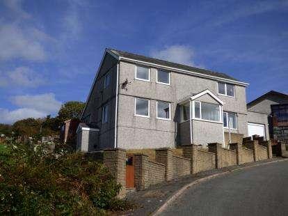 4 Bedrooms Detached House for sale in Garreg Frech, Llanfrothen, Penrhyndeudraeth, Gwynedd, LL48