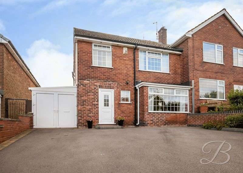 3 Bedrooms Semi Detached House for sale in Old School Lane, Pleasley