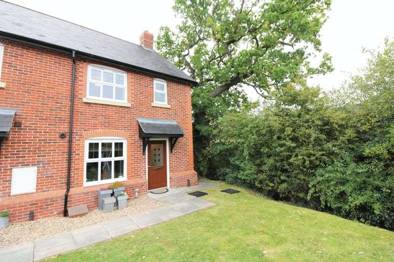 3 Bedrooms Terraced House for sale in Cheshires Way, Saighton Chester