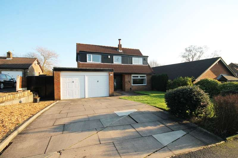 3 Bedrooms Detached House for sale in Rutherford Drive, Over Hulton, Bolton, Lancashire.