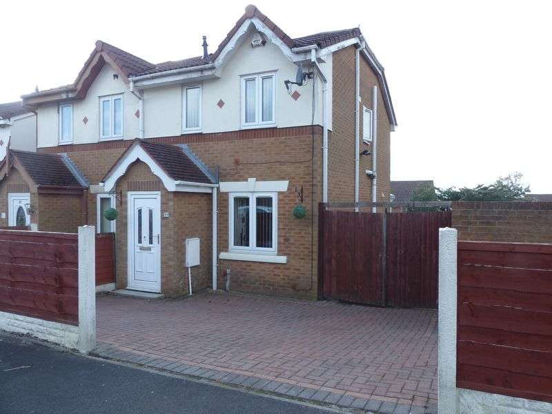 2 Bedrooms Semi Detached House for sale in Hodge Clough Road, Moorside