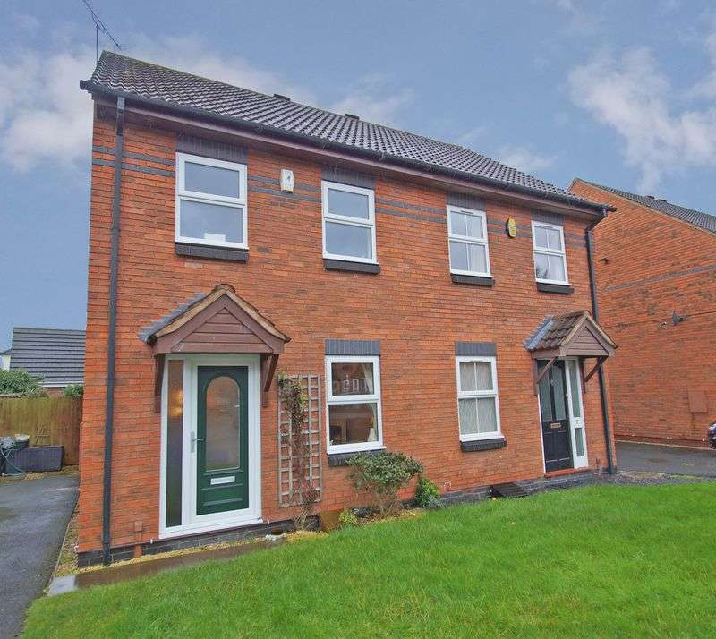 2 Bedrooms Semi Detached House for sale in St Agnes Close, Studley. Warwickshire.