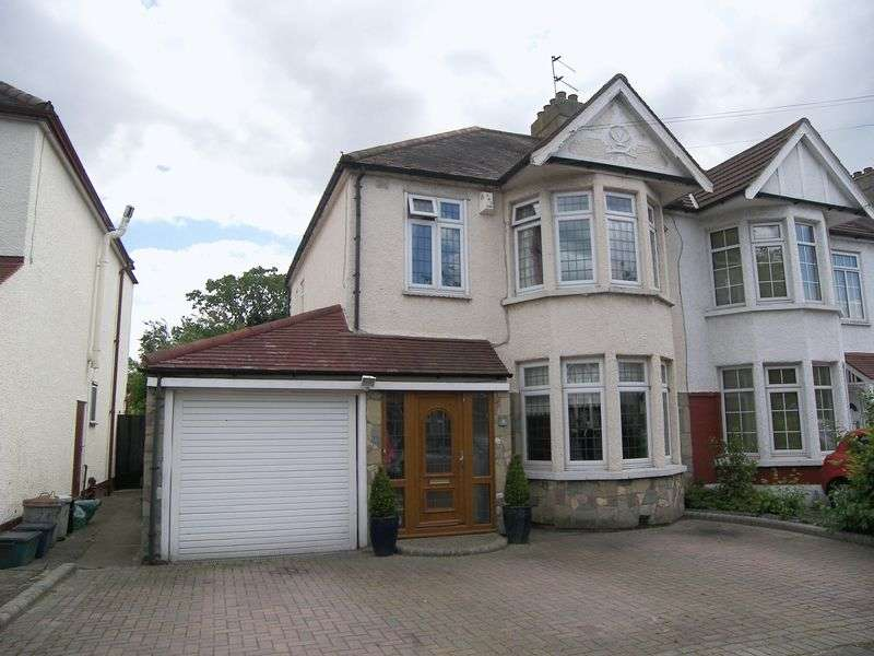 3 Bedrooms Terraced House for sale in GLENWOOD GARDENS, GANTS HILL IG2