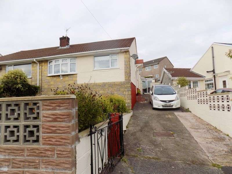 2 Bedrooms Semi Detached Bungalow for sale in Tredegar Close, Llanharan, Pontyclun
