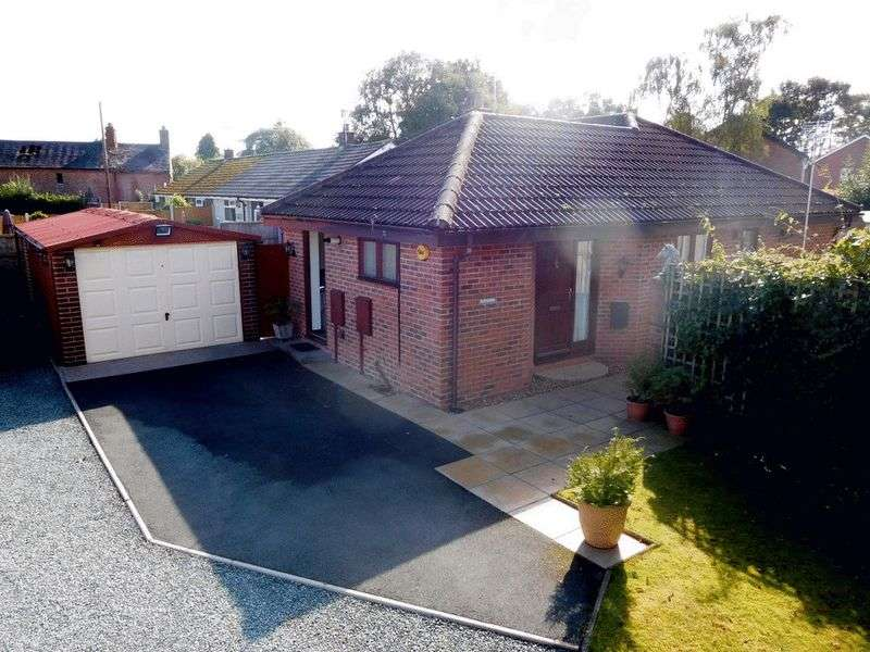 2 Bedrooms Detached Bungalow for sale in Salisbury Road, Market Drayton