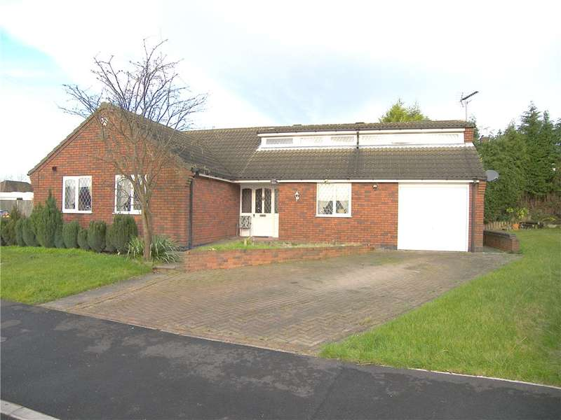 3 Bedrooms Detached Bungalow for sale in Thurgaton Way, Newton, Alfreton, Derbyshire, DE55
