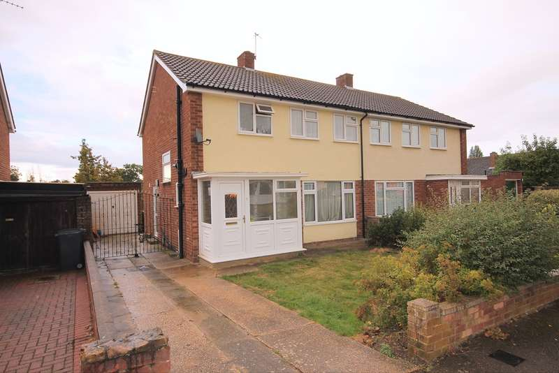 3 Bedrooms Semi Detached House for sale in Starling Way, Brickhill, Bedford, MK41