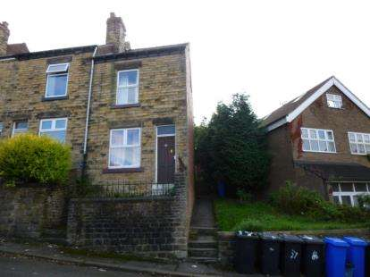3 Bedrooms End Of Terrace House for sale in Matlock Road, Sheffield, South Yorkshire