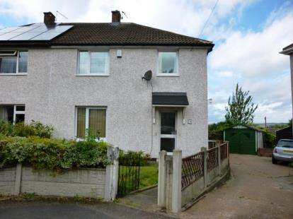 3 Bedrooms Semi Detached House for sale in Derwent View, Mastin Moor, Chesterfield, Derbyshire