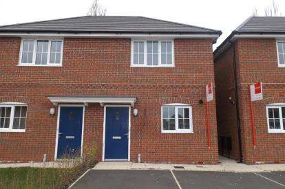 2 Bedrooms Semi Detached House for sale in Bessemer Way, Crewe, Cheshire